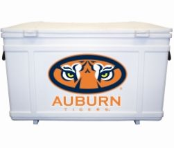Show off your favorite team on your dock or at a tailgate with this handy Collegiate Dock/Tailgate Box. The durable box, made from linear low density polyethylene, keeps your boating equipment or party supplies close by. Lid locks shut with molded-in snaps. Lid and contents can be secured with standard padlock (not included). The Collegiate Box is available in 28 different team logos. 4 lag bolts and washers included for mounting.  #HedstromPlastics #Boating #TailgateBox #DockBox