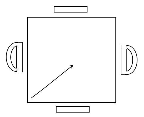 Diagram till stickad nätkasse.