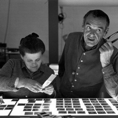 """Charles Ormond #Eames, Jr (1907–1978) and Bernice Alexandra """"Ray"""" (née Kaiser) Eames (1912–1988) #CharlesandRayEames were a husband and wife American design team who profoundly shaped """"the look"""" of America between 1930 and 1970. Their designs have become so well known that they're almost invisible to the public who see their moulded plastic and plywood furniture as part of the landscape. Famous designs include: #EiffelChair, #MouldedPlywoodChair, #EamesHangItAll, #EamesLounge…"""