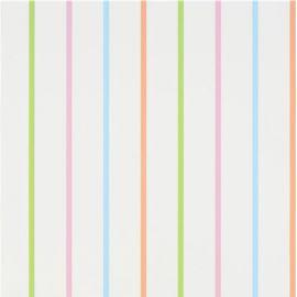 Designers Guild Rainbow stripe aqua