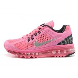 model: nike air max 2013,nike air max 2013 pink style code: 554666-010 colorway: black/pink/grey Nike Air Max 2013 series with its unique design style, popular with the masses, Nike company now in order to meet the consumer preference for the 2013 series, blockbuster launch of the new Nike Air Max 2013 Pink Black Grey.