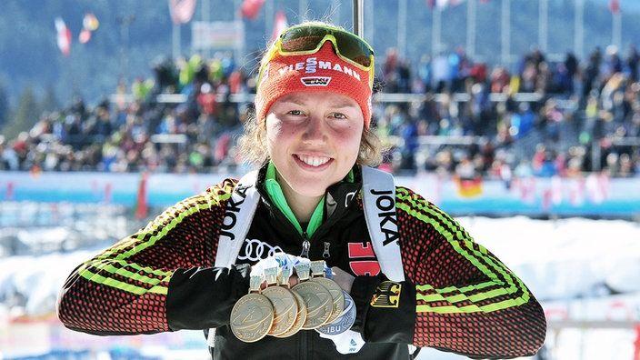 Laura Dahlmeier | Bildquelle: sportschau.de/Dirk Hofmeister