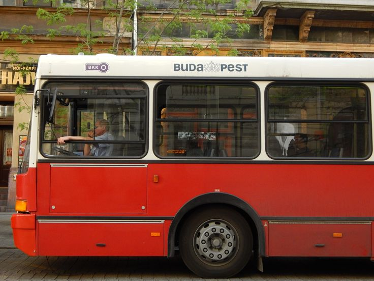 bus in Budapest