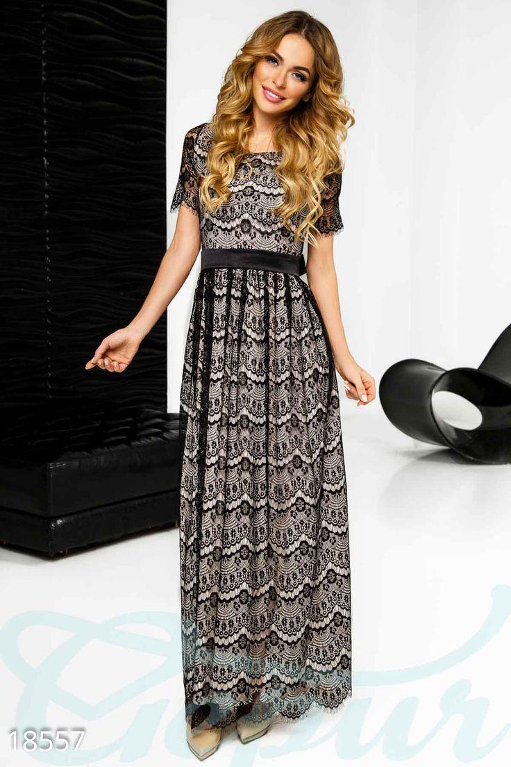 Эксклюзивное гипюровое платье