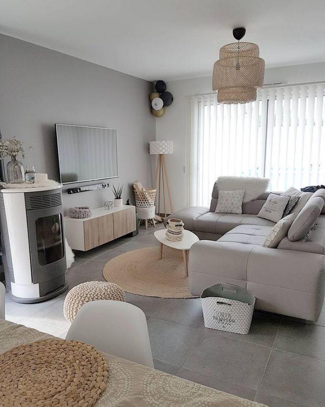 Skandinavischer Wohnzimmerstil – #Skandinavisch #Wohnzimmer #Decodesalon #Home – Home Decoration