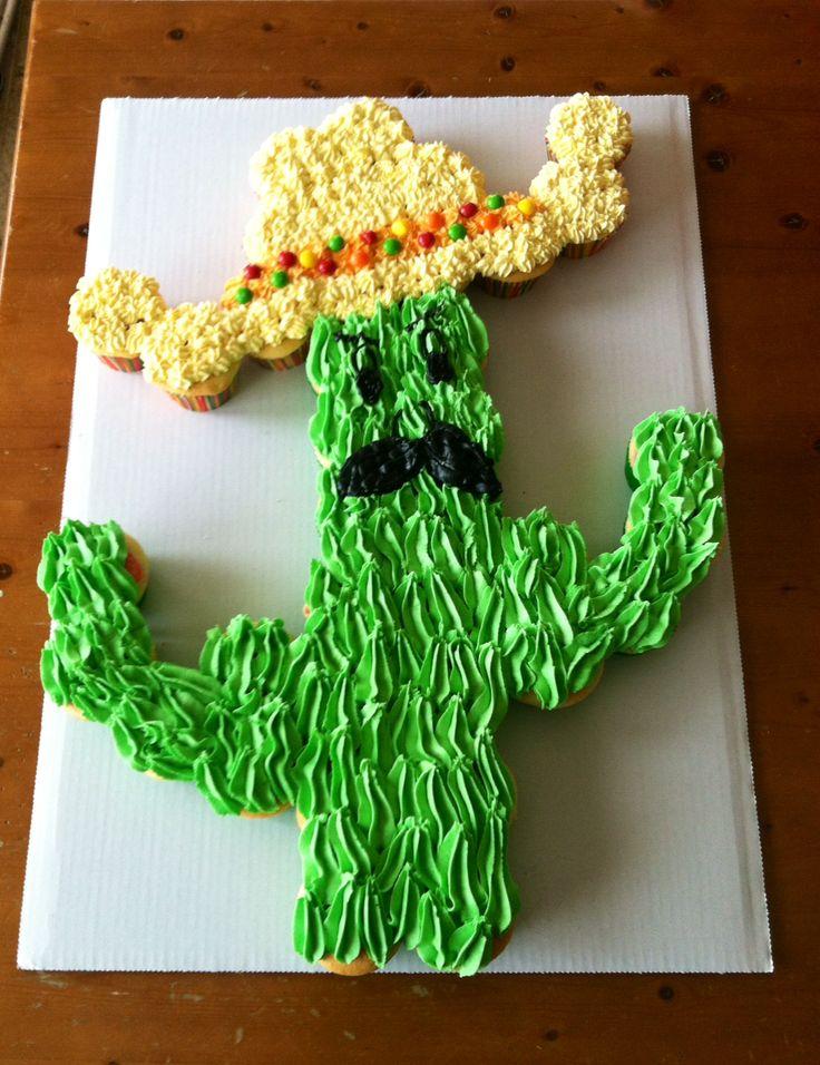 Fiesta pull apart cake
