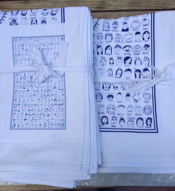 Tea Towels Printed For Schools: 19 Best School / Classroom Art Project / Fundraising Ideas
