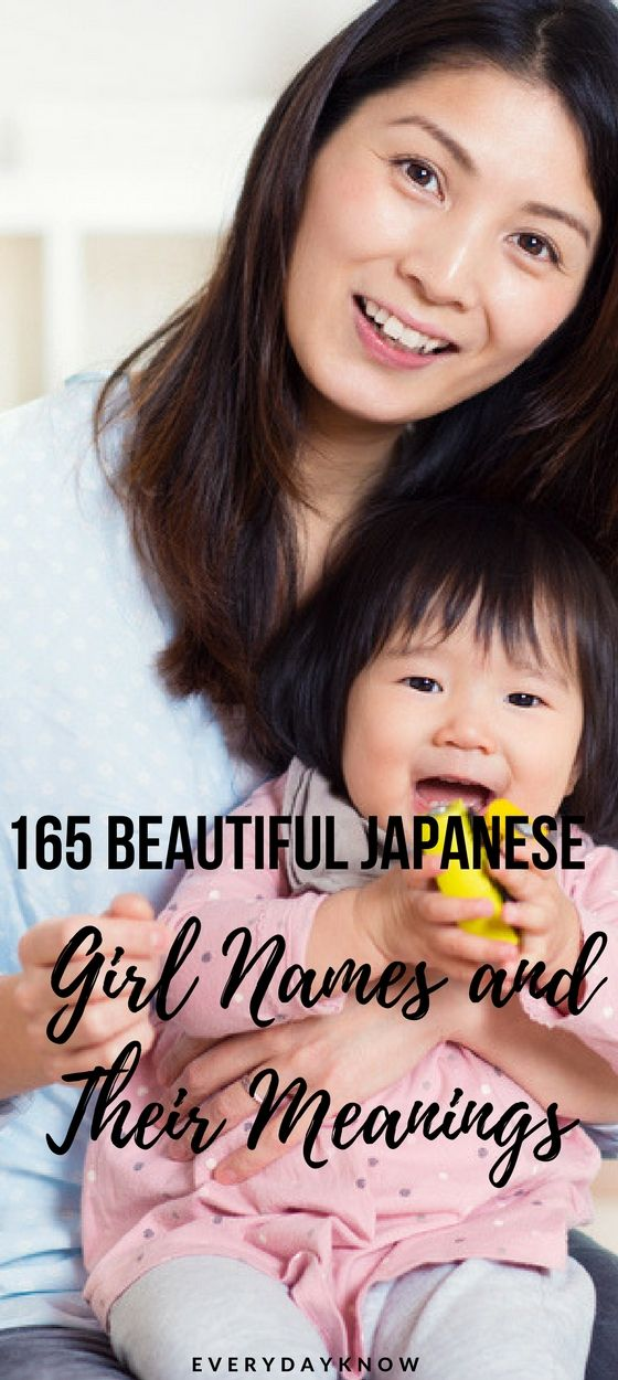 165 Beautiful Japanese Girl Names and Their Meanings