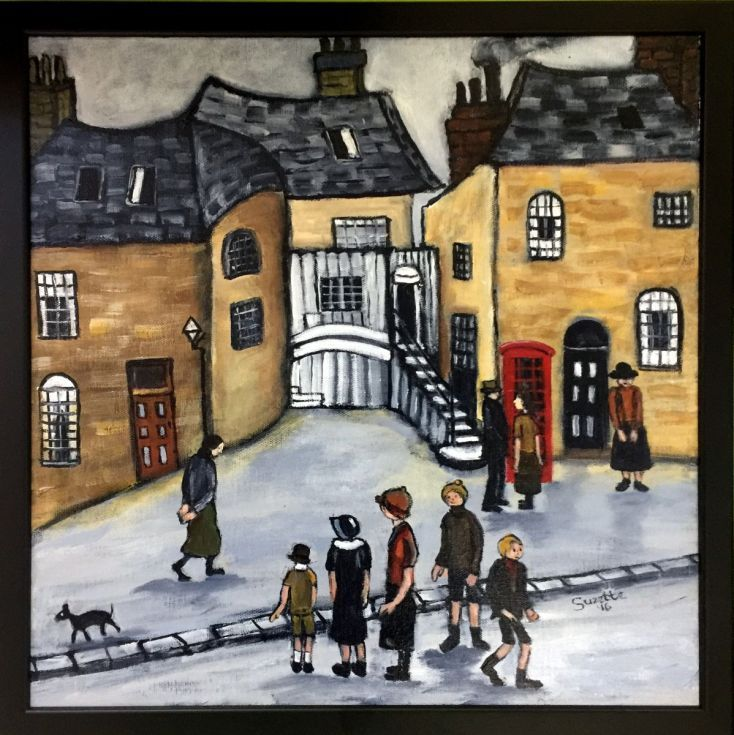 Buy Wish I could phone you Mr Lowry, Acrylic painting by Suzette Datema on Artfinder. Discover thousands of other original paintings, prints, sculptures and photography from independent artists.
