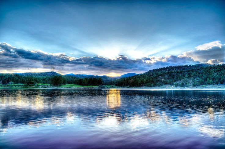 Mescalaro Lake - Inn of the Mountain Gods Ruidoso, New Mexico