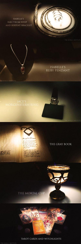The Mortal Instruments: City of Bones movie props