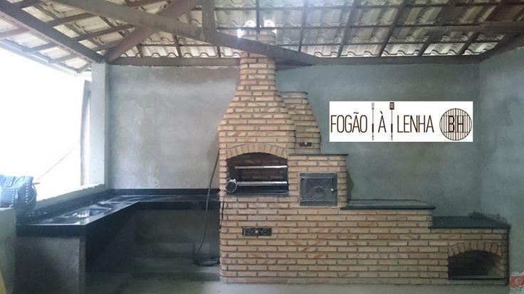 Que beleza o fogão da Jordânia, de Vespasiano. Grill de 5 espetos, forno, chapa de 4 furos e granito com bordas abauladas. Um show, não? Mede +/- 3.20x0.69mt. Peça o seu!   Preço/Orçamento em www.FogaoaLenhaBH.com.br/orcamento 🚀 🚀 🚀    Fogão a Lenha e Forno em Vespasiano  Gostou??? Encomende o seu!!!! Peça seu orçamento | Mais fotos aqui | Facebook do Fogão a Lenha BH Fogão a Lenha BH