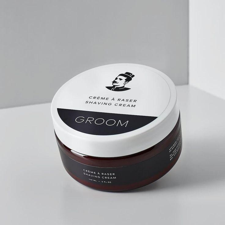 Crème à raser naturelle de Groom, 145ml