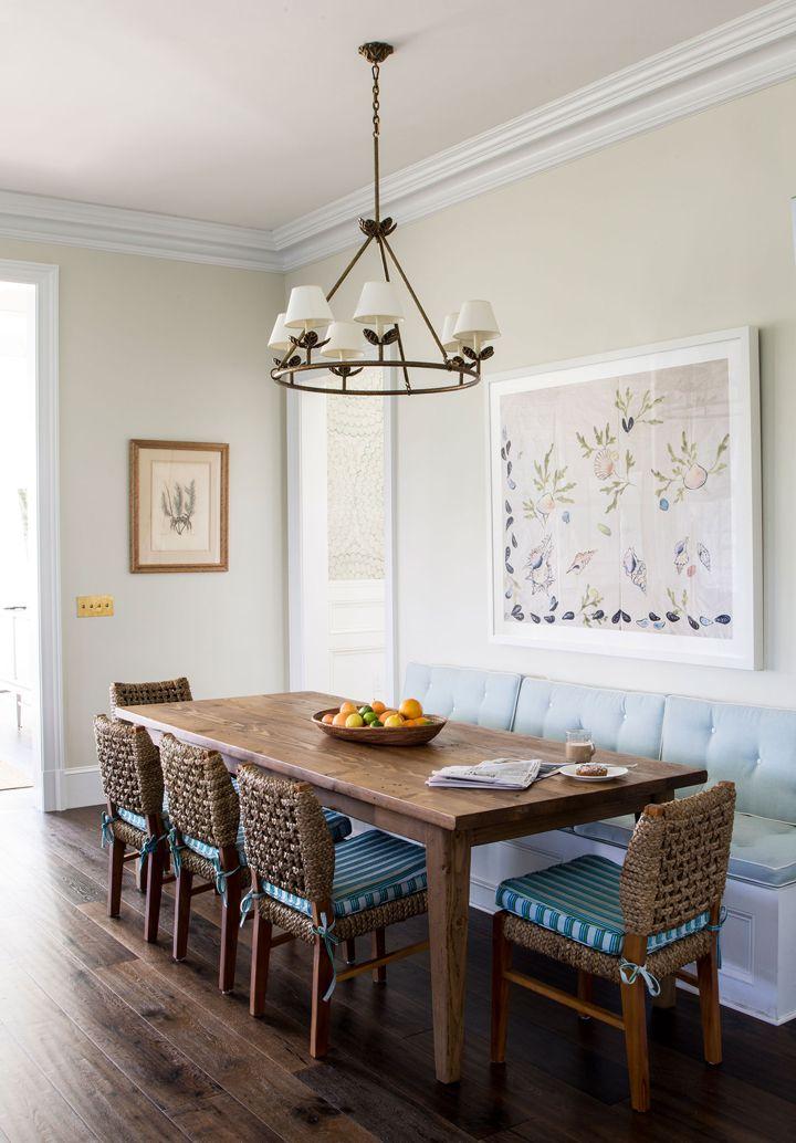 breakfast nook by Andrew Howard Interior Design