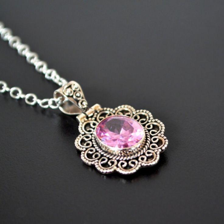 Swarovski & Rose Quartz Necklace