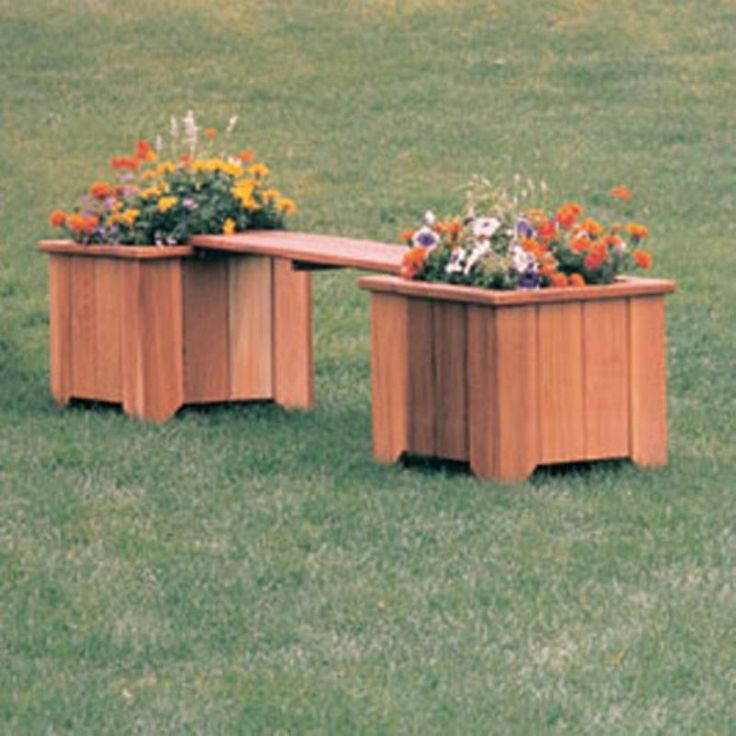 1000+ Ideas About Planter Bench On Pinterest