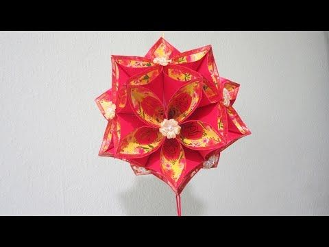 Origami rose (modular). Easy paper rose! Ideas for ...