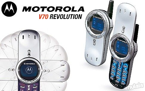 The Classic & Super Stunning Motorola V70 REFURBISHED! An All-Time Favourite of its Era! FREE Peninsular Delivery.