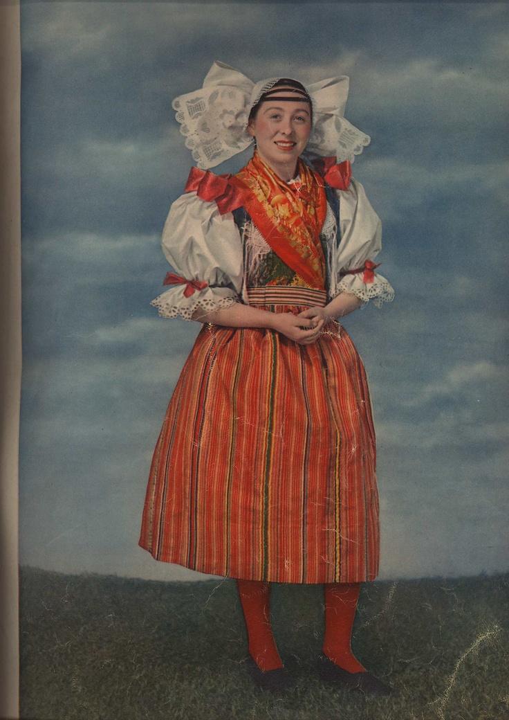 22-12-11  National Costume of the Pilzn Region, Czech Republic