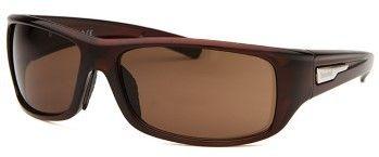 Timberland Men's Rectangle Dark Brown Sunglasses