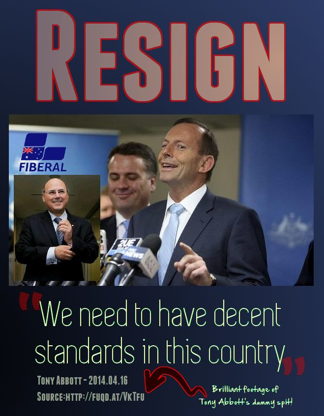 #Resign Tony Abbott and improve standards in this country. Abbott snaps...  http://fuqd.at/VkTfu   #Lateline #AUSpol pic.twitter.com/lb8NCRmHeU