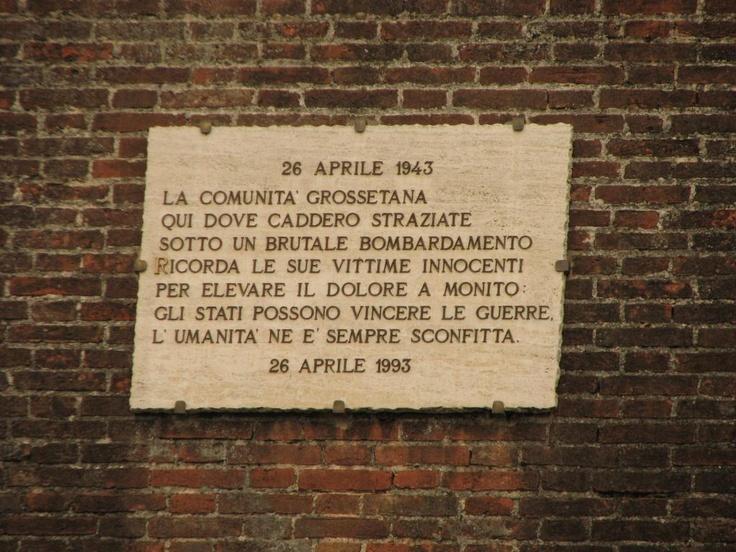 Bombardamento di Grosseto - Piazza Santa Maria, Grosseto (grazie a Giampaolo oasi)