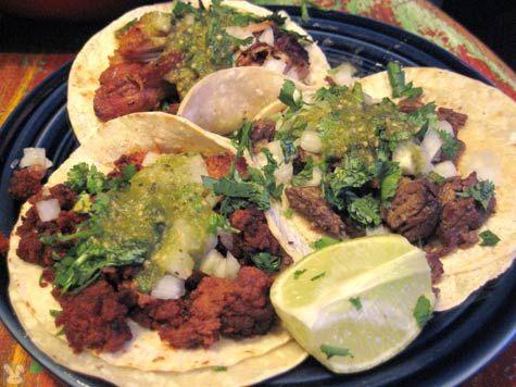 Taquitos mexicanos. .