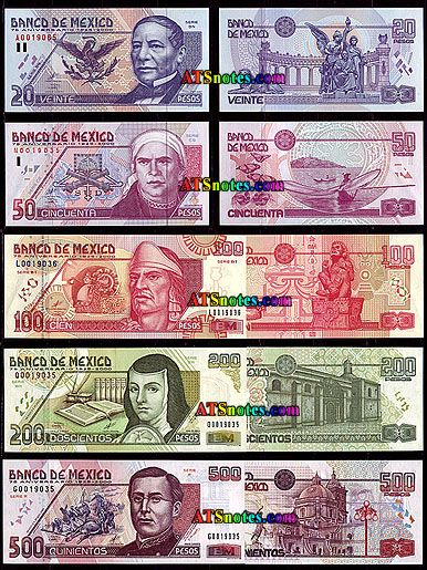 Mexico Banknotes Paper Money Catalog And Mexican Currency History Vintage Collectables Pinterest Coins