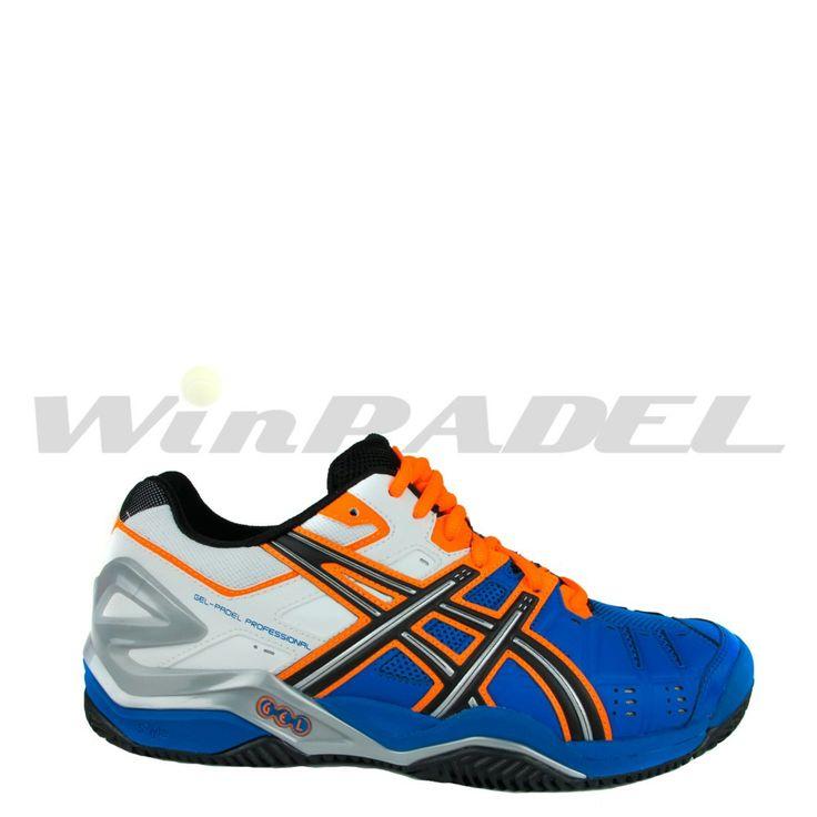 Zapatillas de pádel Asics Gel-Padel Professional SG http://www.winpadel.com/zapatillas-de-padel/zapatillas-de-padel-asics-gel-padel-pro-sg