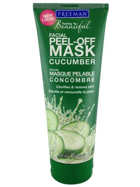 Freeman Cucumber Peel Off Mask. Talk about a throw back to middle school. I don't remember if it actually improved my skin, but it smelled great and who doesn't like peeling stuff?