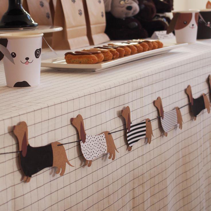 affordable autres accessoires et ides dco retrouver sur la boutique et le blog rose caramelle chien puppy party birthday deco kids deco with chien deco