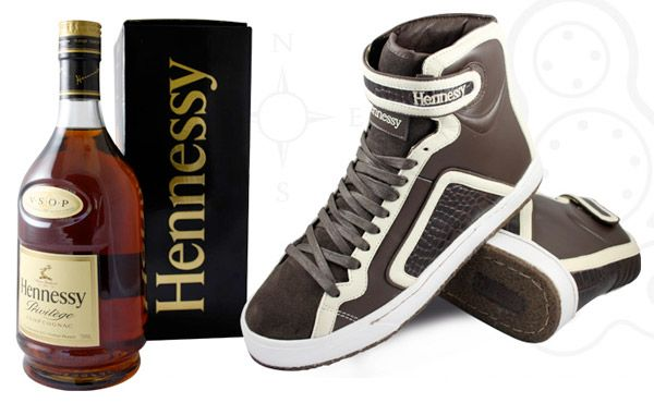 Luxury Hennessy Sneakers by Jhung Yuro  Priced at $300