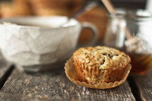 honey & jam | recipes + photos: Banana Oat Muffins