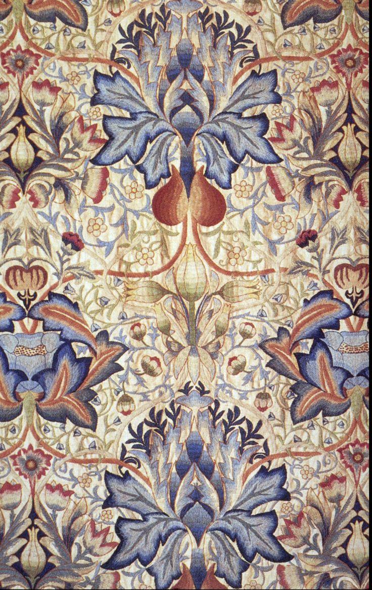 Arts and crafts prints - Morris Prints Artichokesarts Craftsneedleworkart