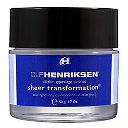 This is my Go To face cream for colder months. Ole Henriksen's sheer transformation is ideal for all skin types (mine is oily/combination; prone to breakouts). It leaves my skin super smooth, smells fresh and feels light once applied evenly over my face and neck.