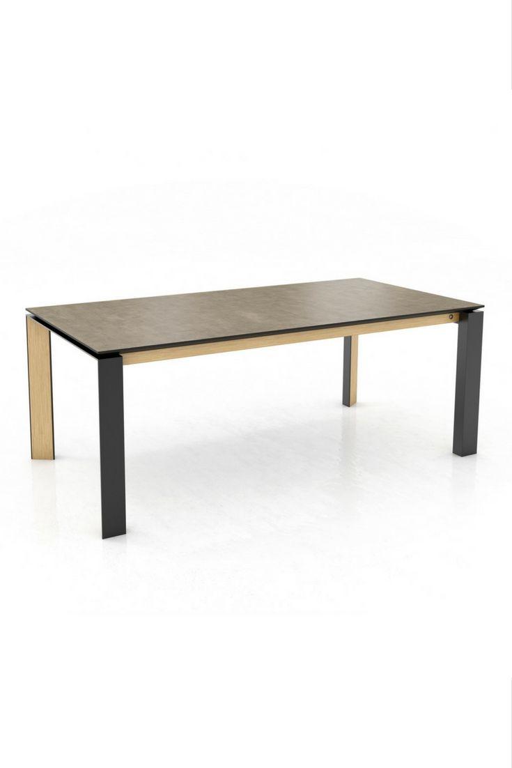 les 25 meilleures id es de la cat gorie tables m talliques sur pinterest pieds de table en. Black Bedroom Furniture Sets. Home Design Ideas
