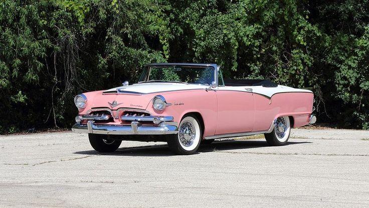 1955 Dodge Custom Lancer Royal Convertible presented as
