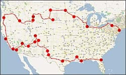 """8 cool sites for planning a family road trip - GO ON A FAMILY ROAD TRIP! - if by """"family"""" you mean critters..."""