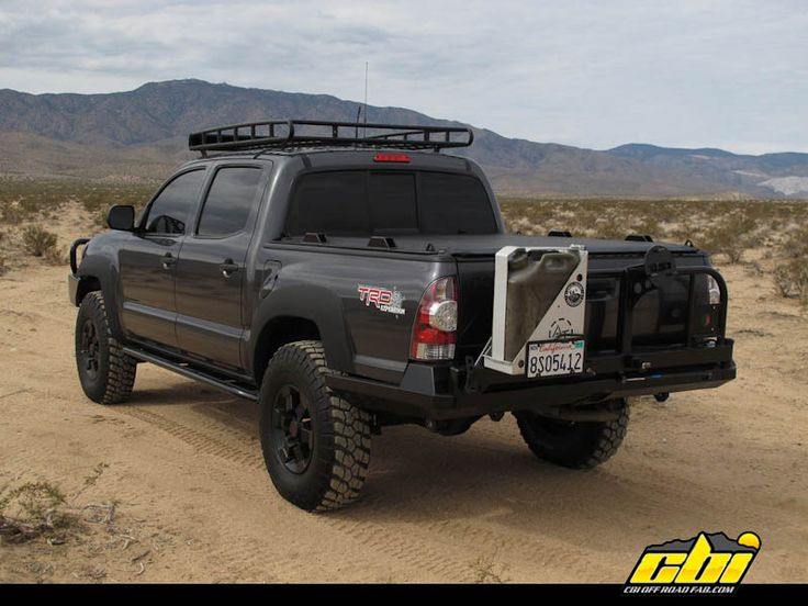 toyota tacoma off road accessories | ... with-tire-carrier-for-toyota-tacoma-built-by-cbi-offroad-fab-1-of-1