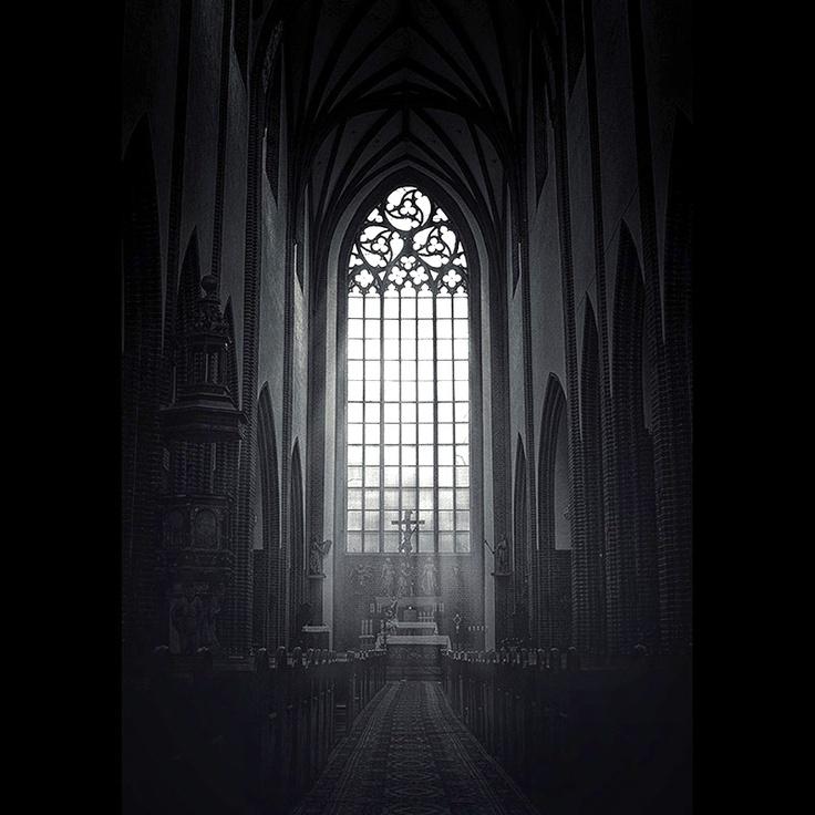 """""""Gothique"""" by Tom Wasilewski, featuring St. Mary Magdalene's Church in Wrocław (aka Breslau), Poland. (© 2013)"""