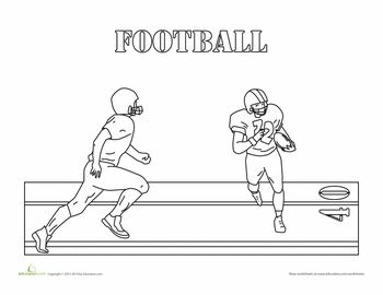 These Fantastic Sports Coloring Sheets For Kindergarteners Are A Great Way To Little Athletes Celebrate Their Hobbies Both Male And Female