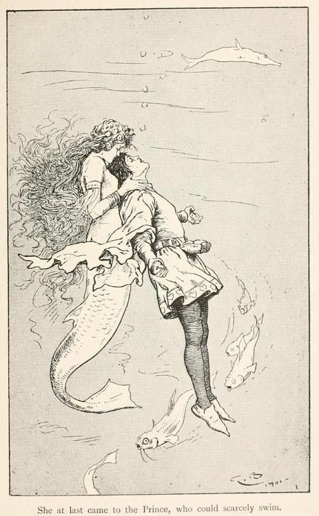 Fairy tales from Hans Andersen, 1906 Illustrations by Gordon Browne The Sea Maiden