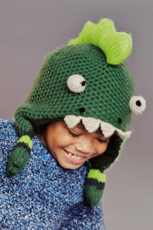 Buy Green Monster Inca Hat (3mths-6yrs) from the Next UK online shop