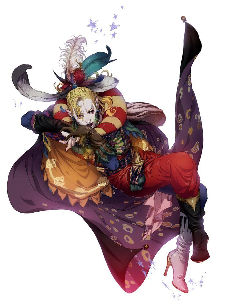 Tags: Final Fantasy VI, Pixiv, Cefka Palazzo, Nshi