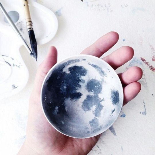 Please someone tell me that there are moon tea cups out there somewhere.