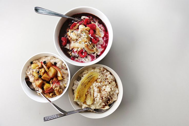 Three Super Oat Bowls - Breakfast by nutrionist Jessica Sepel