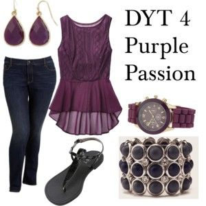 Dress Your Truth Type 4 Purple Passion