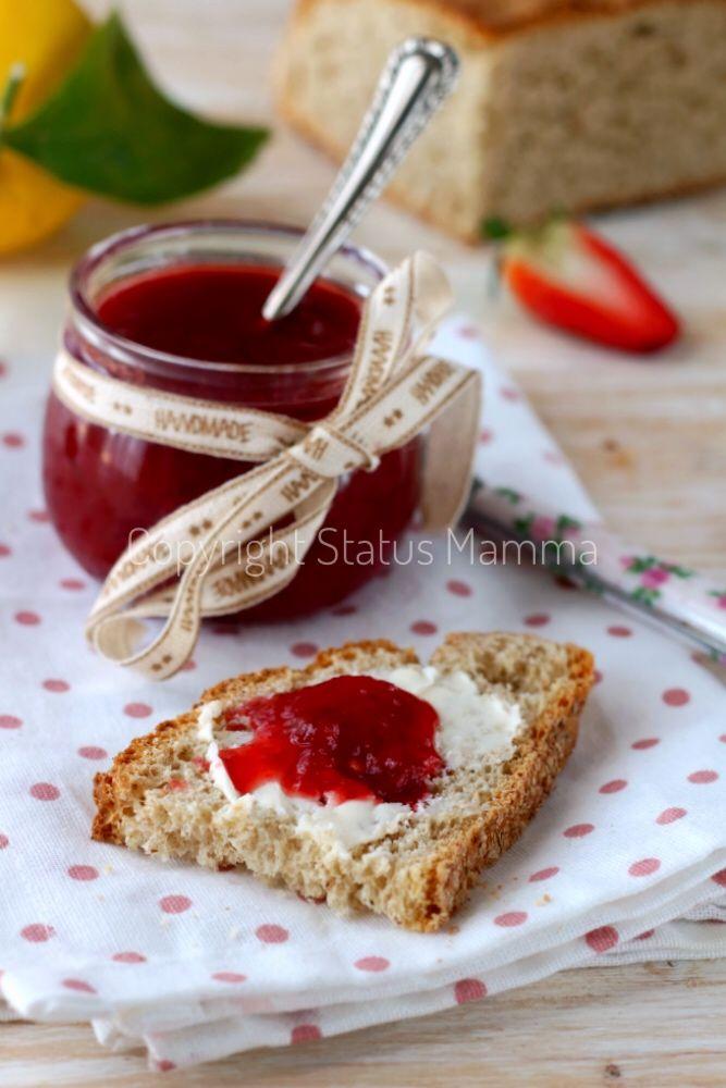 Ricetta confettura di fragole senza conservanti naturale
