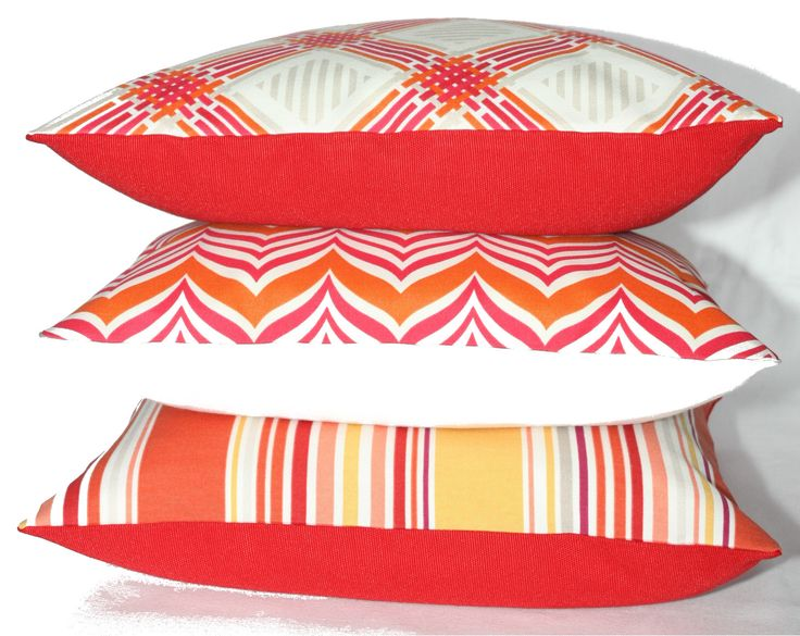 Christmas Gift Ideas! Red and white cushions!
