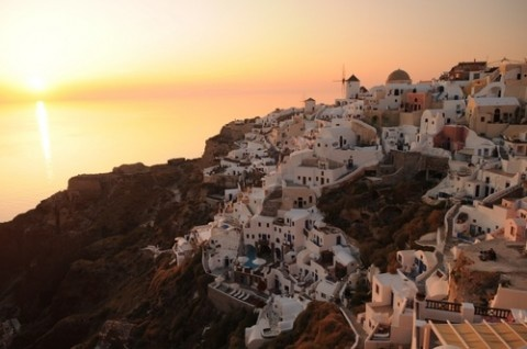Santorini, Greece -been here and would love to go back with kids